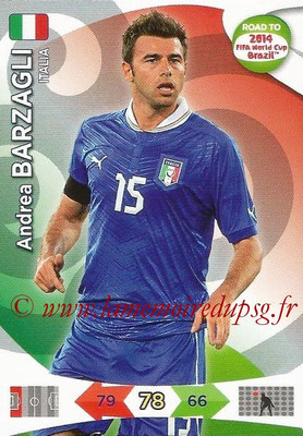 2014 - Panini Road to FIFA World Cup Brazil Adrenalyn XL - N° 121 - Andrea BARZAGLI (Italie)
