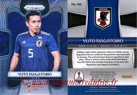 2018 - Panini Prizm FIFA World Cup Russia - N° 118 - Yuto NAGATOMO (Japon)