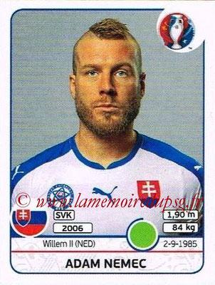 Panini Euro 2016 Stickers - N° 232 - Adam NEMEC (Slovénie)