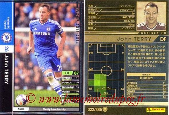 2013-14 - WCCF - N° 022 - John TERRY (Chelsea FC)