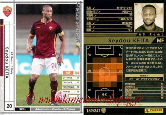 2015-16 - Panini WCCF - N° 169 - Seydou KEITA (AS Roma)