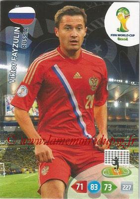 2014 - Panini FIFA World Cup Brazil Adrenalyn XL - N° 286 - Viktor FAYZULIN (Russie)