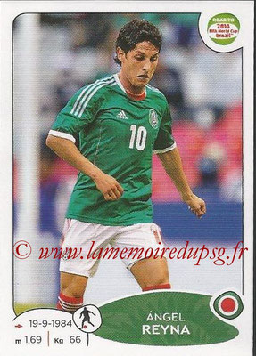 2014 - Panini Road to FIFA World Cup Brazil Stickers - N° 253 - Angel REYNA (Mexique)