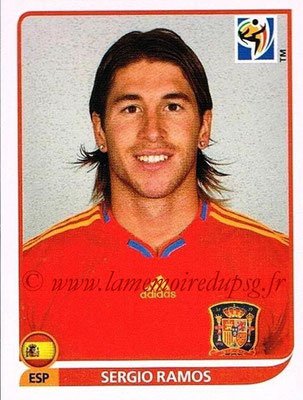 2010 - Panini FIFA World Cup South Africa Stickers - N° 567 - Sergio RAMOS (Espagne)