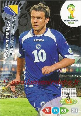 2014 - Panini FIFA World Cup Brazil Adrenalyn XL - N° 041 - Zvjezdan MISIMOVIC (Bosnie-Herzegovine)