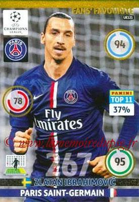 N° UE121 - Zlatan IBRAHIMOVIC (Fans' Favourite, Top 11)