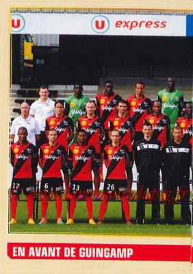 2014-15 - Panini Ligue 1 Stickers - N° 098 - Équipe EA Guingamp