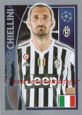 2015-16 - Topps UEFA Champions League Stickers - N° 235 - Giorgio CHIELINI (Juventus FC)