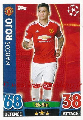 2015-16 - Topps UEFA Champions League Match Attax - N° 327 - Marcos ROJO (Manchester United)