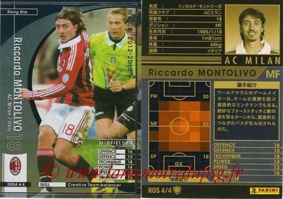 2012-13 - WCCF - N° RGS4 - Riccardo MONTOLIVO (Milan AC) (Rising Star)