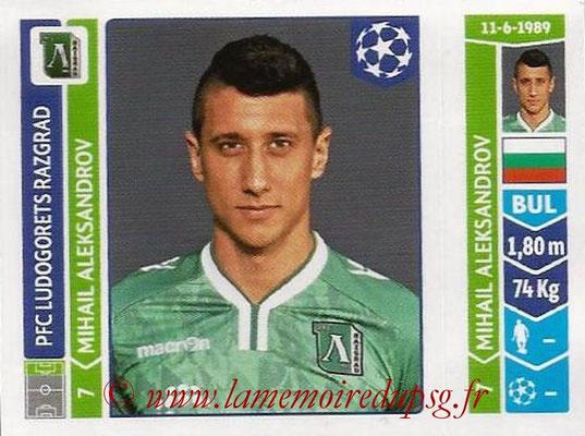 2014-15 - Panini Champions League N° 172 - Mihail ALEKSANDROV (Ludogorets Razgrad)