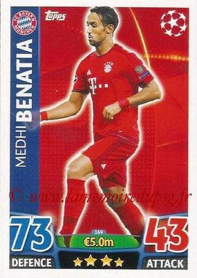 2015-16 - Topps UEFA Champions League Match Attax - N° 169 - Medhi BENATIA (FC Bayern Munich)