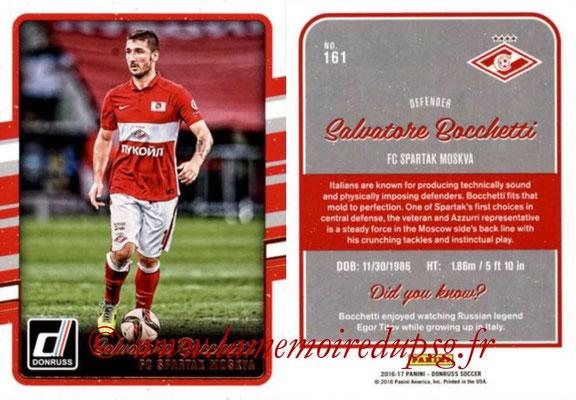2016 - Panini Donruss Cards - N° 161 - Salvatore BACCHETTI (Spartak Moscou)
