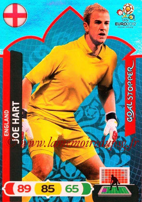 Panini Euro 2012 Cards Adrenalyn XL - N° 229 - Joe HART (Angleterre) (Goal Stopper)