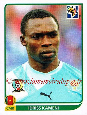 2010 - Panini FIFA World Cup South Africa Stickers - N° 393 - Idriss KAMENI (Cameroun)