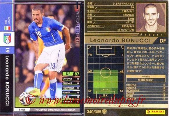 2013-14 - WCCF - N° 340 - Leonardo BONUCCI (Italie)