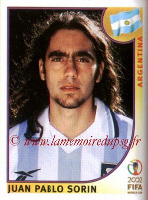 N° 391 - Juan Pablo SORIN (2002, Argentine > 2003-04)