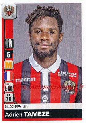 2018-19 - Panini Ligue 1 Stickers - N° 315 - Adrien TAMEZE (Nice)