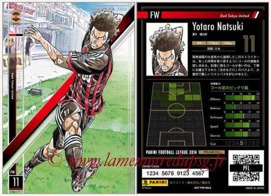 Panini Football League 2014 - PFL04E - N° 016 - Yotaro Natsuki (East Tokyo United)