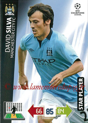 2012-13 - Adrenalyn XL champions League N° 131 - David SILVA (Manchester City FC) (Star Player)