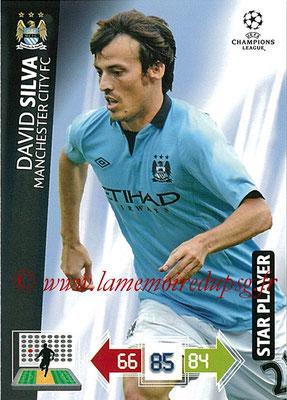 2012-13 - Adrenalyn XL champions League N° 131 - David SILVA (Manchester City FC) (Star Player)