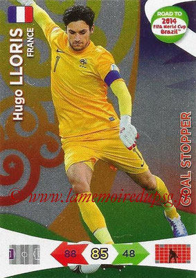 2014 - Panini Road to FIFA World Cup Brazil Adrenalyn XL - N° 212 - Hugo LLORIS (France) (Goal Stopper)