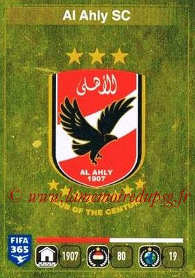 2015-16 - Panini FIFA 365 Stickers - N° 281 - Ecusson Al Ahly SC