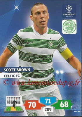 2013-14 - Adrenalyn XL champions League N° 113 - Scott BROWN (Celtic FC)