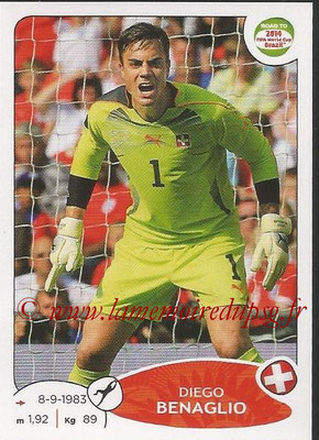 2014 - Panini Road to FIFA World Cup Brazil Stickers - N° 355 - Diego BENAGLIO (Suisse)