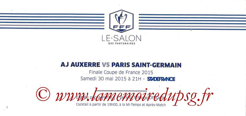 Tickets  Auxerre-PSG  2014-15