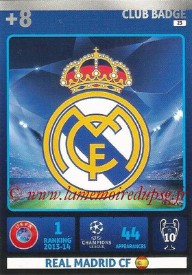 2014-15 - Adrenalyn XL champions League N° 023 - Logo Real Madrid CF (Club Badge)