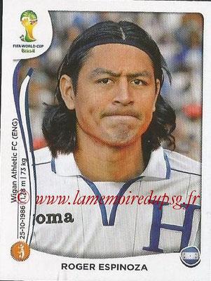 2014 - Panini FIFA World Cup Brazil Stickers - N° 404 - Roger ESPINOZA (Honduras)