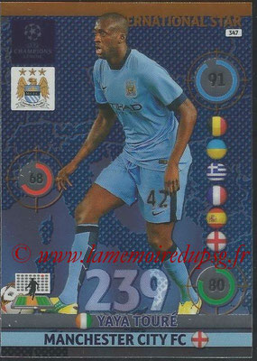 2014-15 - Adrenalyn XL champions League N° 347 - Yaya TOURE (Manchester City FC) (International Star)