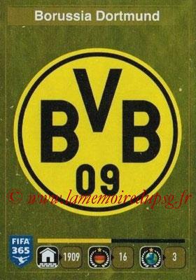 2015-16 - Panini FIFA 365 Stickers - N° 491 - Ecusson Borussia Dortmund