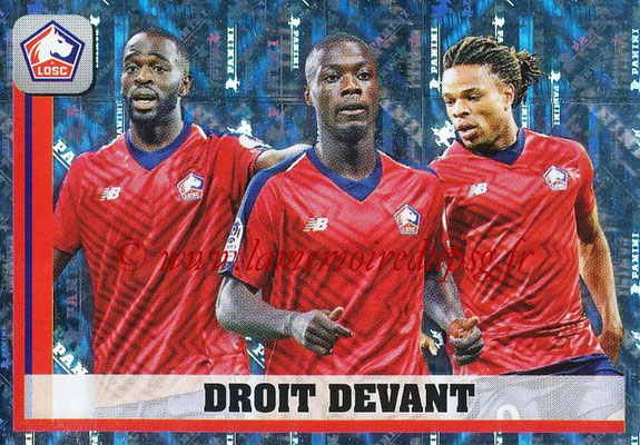 2018-19 - Panini Ligue 1 Stickers - N° 175 - Droit Devant (Lille)