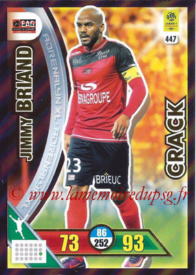 2017-18 - Panini Adrenalyn XL Ligue 1 - N° 447 - Jimmy BRIAND (Guingamp) (Crack)