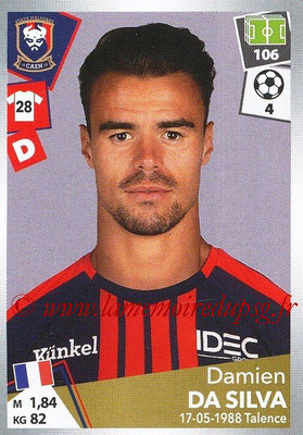 2017-18 - Panini Ligue 1 Stickers - N° 080 - Damien DA SILVA (Caen)