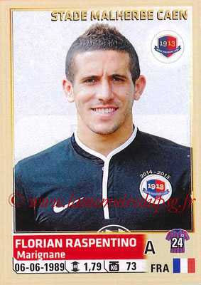 2014-15 - Panini Ligue 1 Stickers - N° 070 - Florian RASPENTINO (SM Caen)