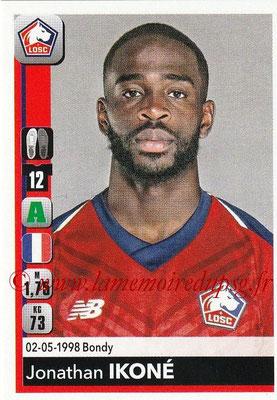 2018-19 - Panini Ligue 1 Stickers - N° 169 - Jonathan IKONE (Lille)
