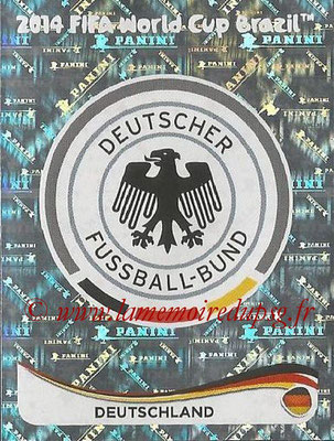 2014 - Panini FIFA World Cup Brazil Stickers - N° 488 - Ecusson Allemagne