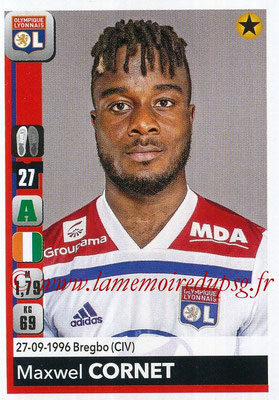 2018-19 - Panini Ligue 1 Stickers - N° 191 - Maxwel CORNET (Lyon)