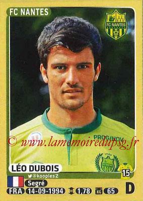 2015-16 - Panini Ligue 1 Stickers - N° 293 - Léo DUBOIS (FC Nantes)