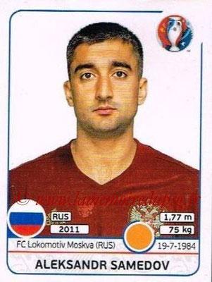 Panini Euro 2016 Stickers - N° 172 - Aleksandr SAMEDOV (Russie)