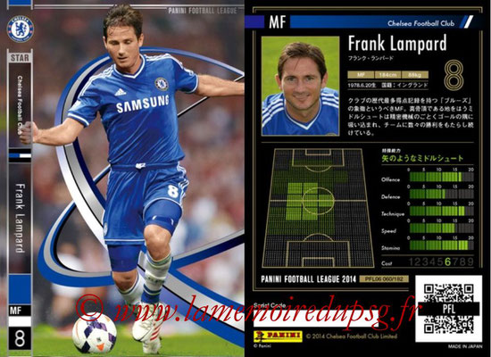 Panini Football League 2014 - PFL06 - N° 060 - Frank LAMPARD (Chelsea FC) (Star)