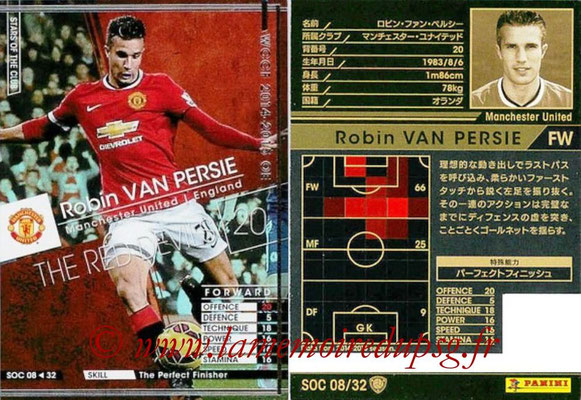 2014-15 - WCCF - N° SOC08 - Robin VAN PERSIE (Manchester United FC) (Stars Of the Club)