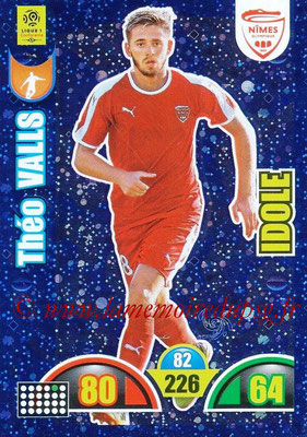 2018-19 - Panini Adrenalyn XL Ligue 1 - N° 385 - Théo VALLS (Nîmes) (Idole)