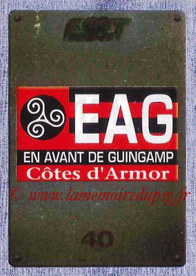 2015-16 - Panini Ligue 1 Stickers - N° 121 - Ecusson EA Guingamp