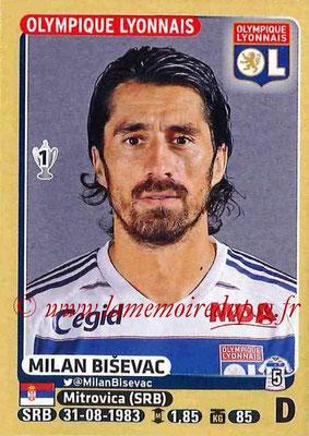 2015-16 - Panini Ligue 1 Stickers - N° 197 - Milan BISEVAC (Olympique Lyonnais)