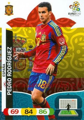 Panini Euro 2012 Cards Adrenalyn XL - N° 072 - Pedro RODRIGUEZ (Espagne)