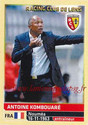 2014-15 - Panini Ligue 1 Stickers - N° 124 - Antoine KOMBOUARE (RC Lens) (Entraîneur)